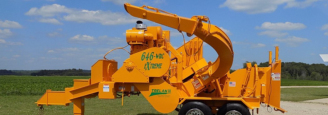 Trelan Chippers Operate with Exceptionally Low Maintenance